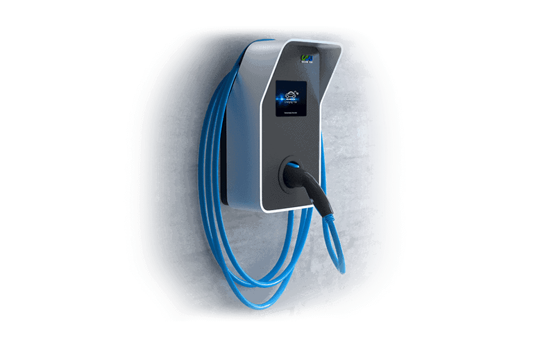 wall-mounted ev charger